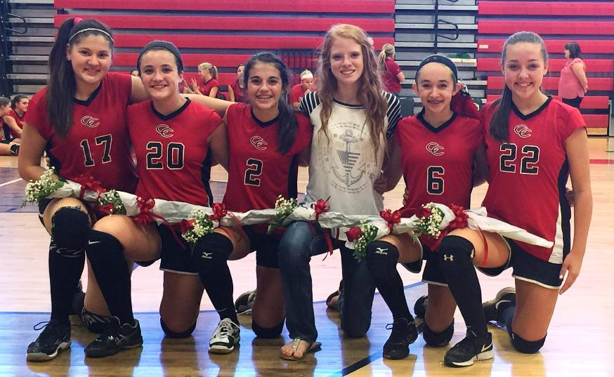 Ccms Volleyball Sweeps North Franklin On 8th Grade Night Thunder Radio