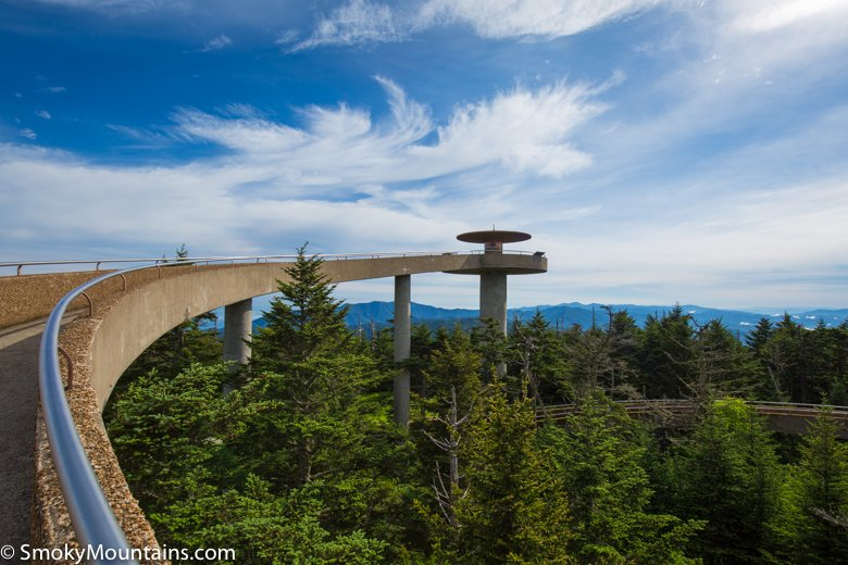 Great Smoky Mountains National Park Clingmans Dome ...