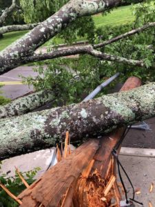 Tuesday morning storms knock out power to over 4,000 DREMC customers