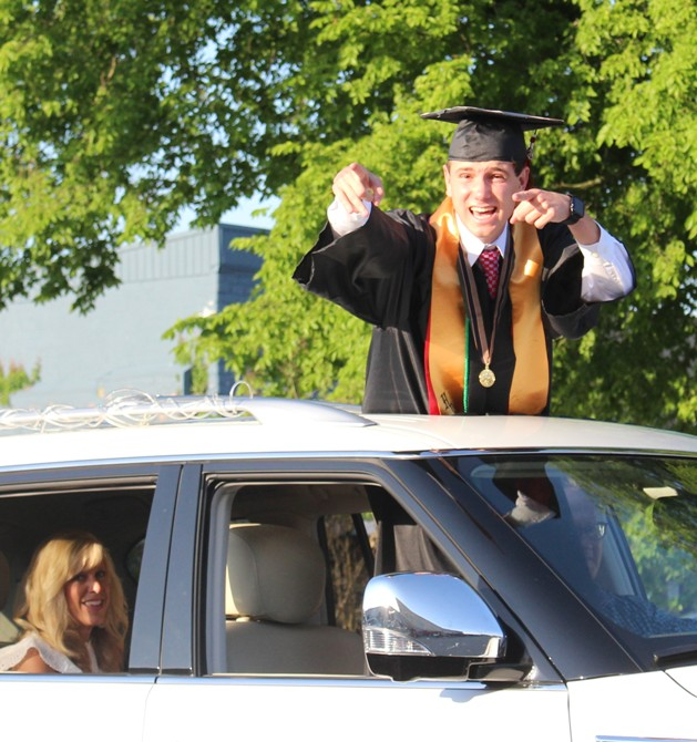 CHS parade of graduates brings Manchester, graduates together for memorable night