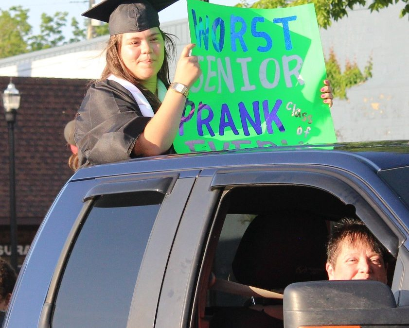 CHS seniors sent off in style with graduation parade