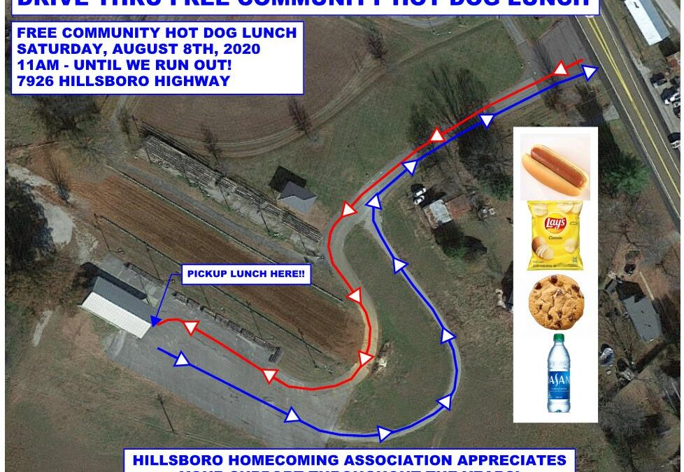 Hillsboro Homecoming Association offering free hot dog lunch Saturday
