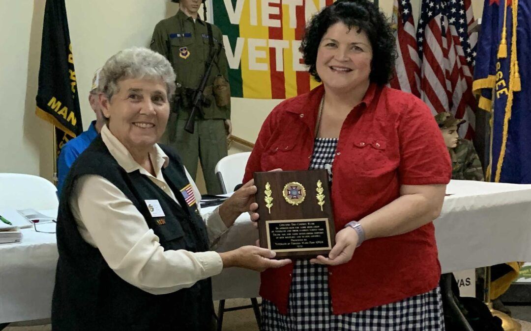 Local VFW presents community awards