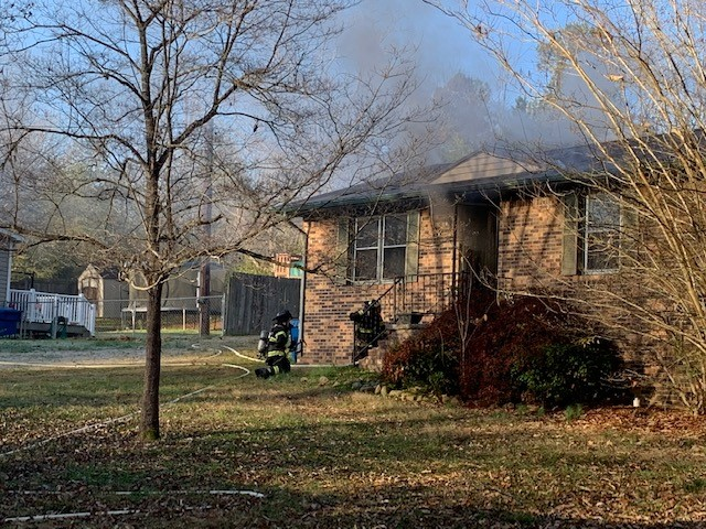 Tuesday fire damages Manchester home