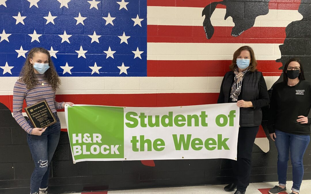 H&R BLOCK STUDENT OF THE WEEK – Madelyn Schultz