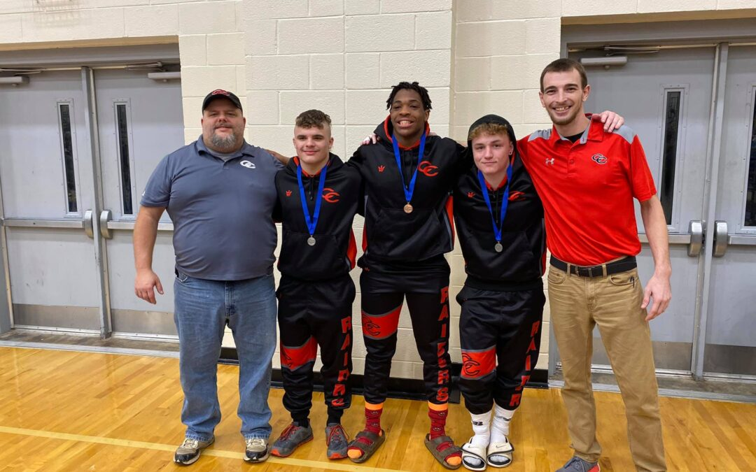 Four CHS wrestlers to the State Tournament this week