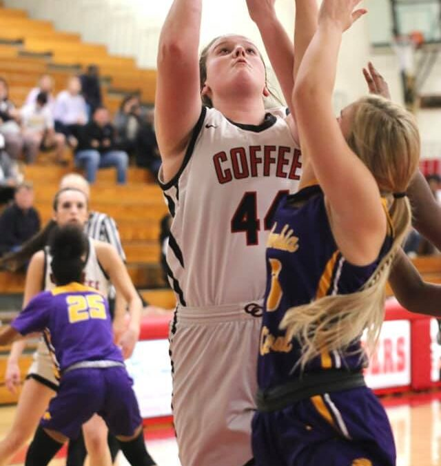 ON A MISSION: Lady Raiders turn up the heat, roll Columbia to advance to District title game