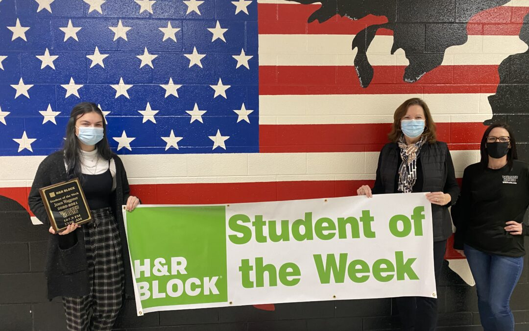H&R BLOCK STUDENT OF THE WEEK