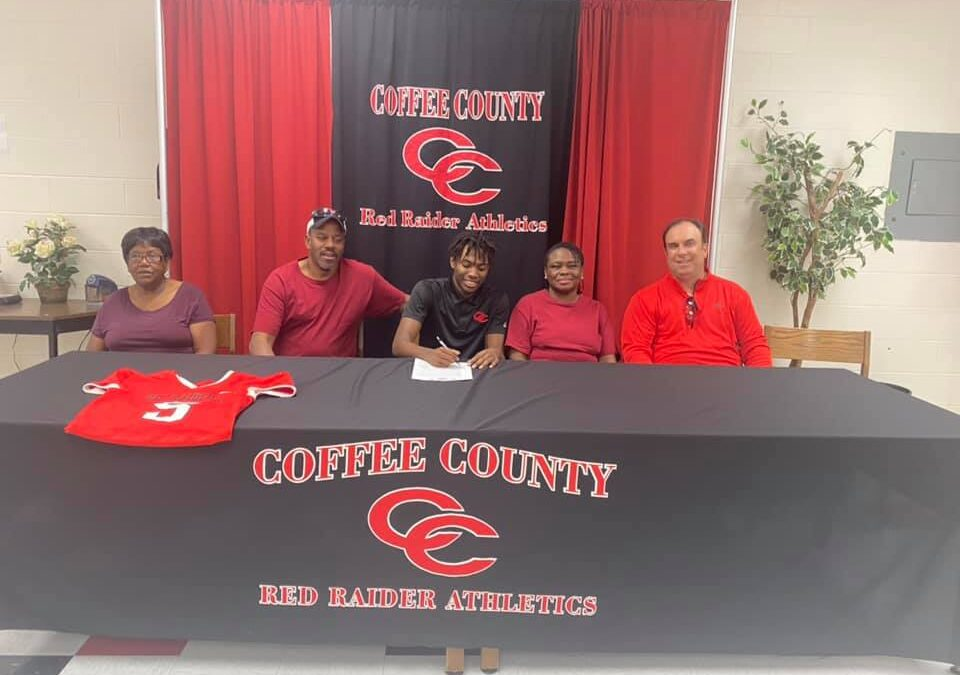 CJ Anthony signs to play football at Cumberland