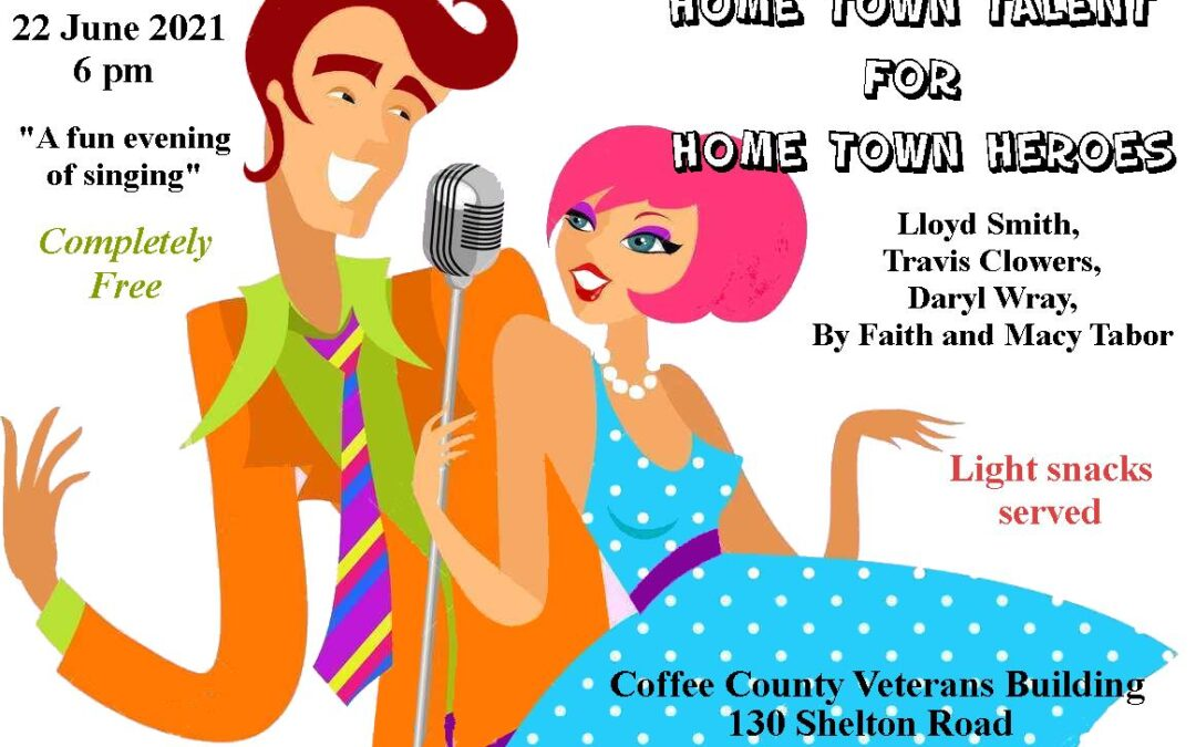 """""""Home Town Talent for Home Town Heroes"""" event to happen on June 22nd"""