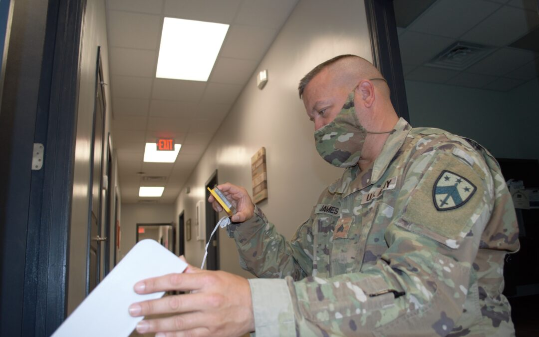 Manchester Guardsman volunteers to serve on COVID-19 task force