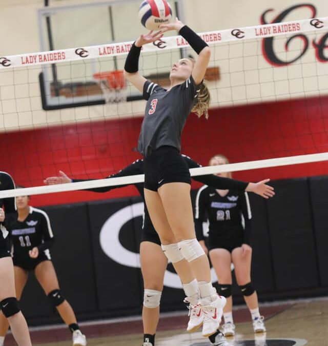 VOLLEYBALL: Lady Raiders head to Cleveland for region tournament